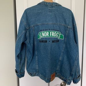 Jackets & Blazers - Denim jacket Senor Frog's Cancun